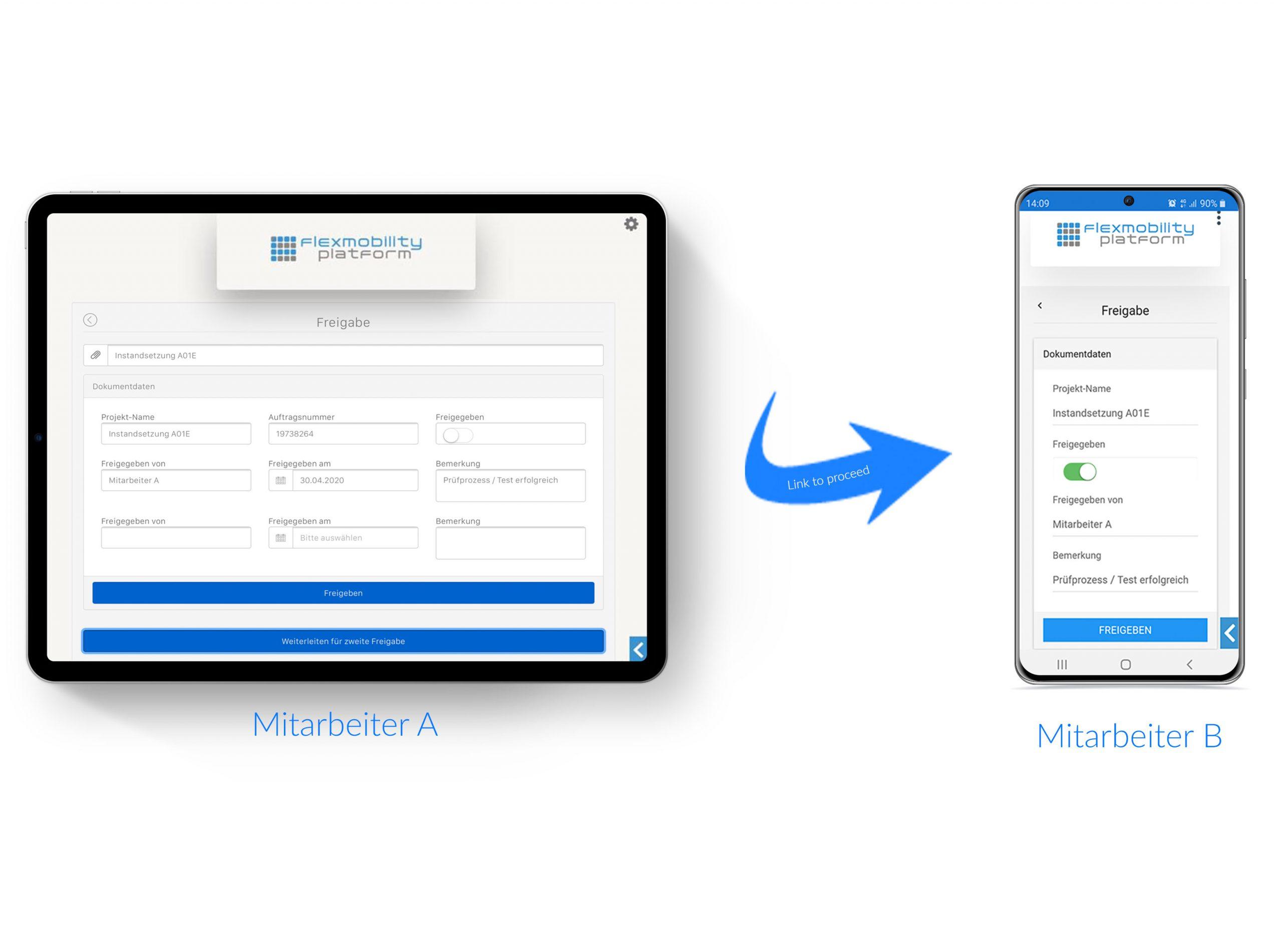 Business Apps Konfiguration flexmobility platform